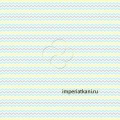 13166-2 Зигзаг трехцветный детский поплин