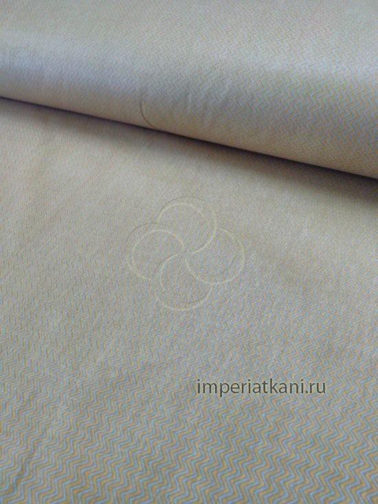 Детская ткань из поплина «Мелкий зигзаг»