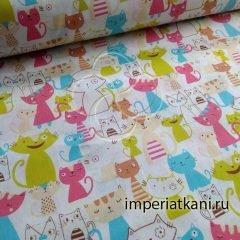 2103-1 Веселые котята бязь детская