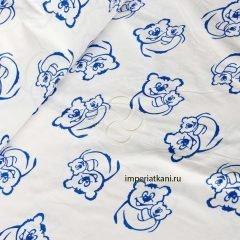 Ткань поплин «Мишутки бз»