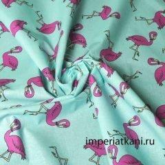 Детский поплин «Фламинго»
