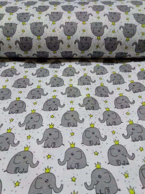 461 Слоники детский поплин 150