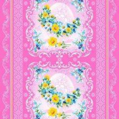 Вафельная ткань «К Пасхе»