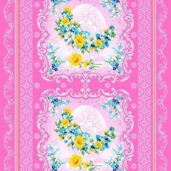5242 К Пасхе вафельная ткань