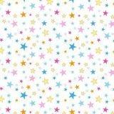 фланель белоземельная | опт | рисунок звездочки