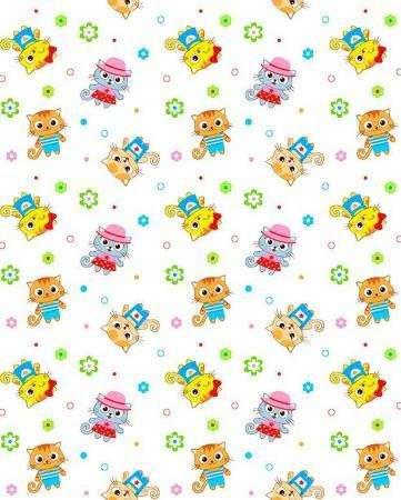 5431-5 фланель детская