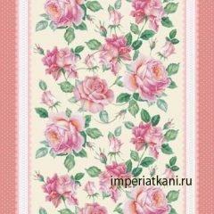 Вафельное полотно «Розы»