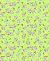 Фланель детская 5568 ом слоники