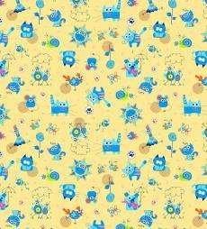5569-4 фланель детская