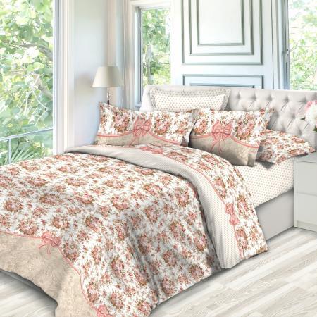 6401 «Садовая роза» ткань поплин