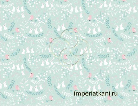 7260-1 На поляне бязь детская узбекистан