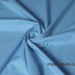 Поплин Голубой