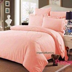 розовый сатин 250 однотонный