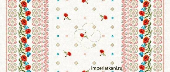 ткань для скатертей рис 18714-1