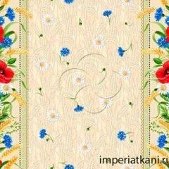 ткань для скатертей рис 18752-1
