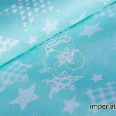 Ткань бязь «Звезды»